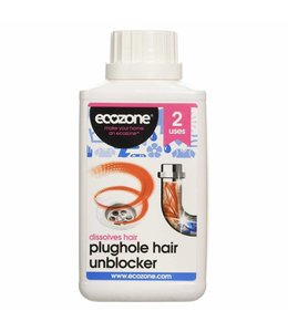 Ecozone Ecozone Enzymatic Plughole Hair Unblocker 250ml