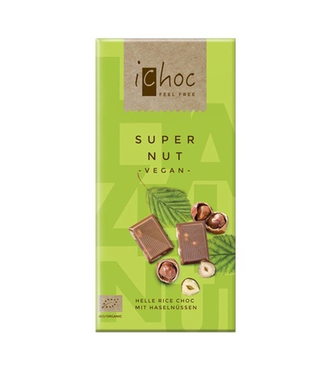 iChoc iChoc Super Nut Rice Choc 80g