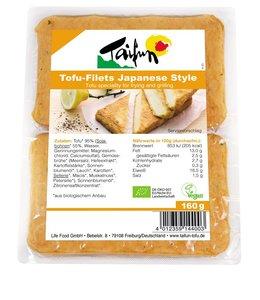 Taifun Organic Taifun Tofu Filets Japanese Style 160g