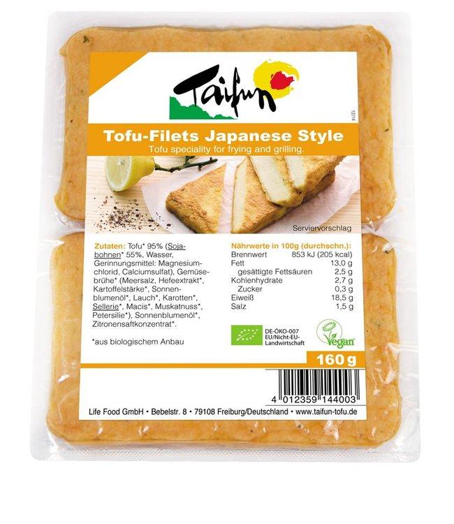 Taifun Organic Taifun Org Tofu Filets Japanese Style 160g