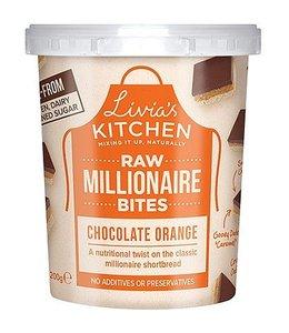 Livia's Millionaire Bites Chocolate Orange 180g