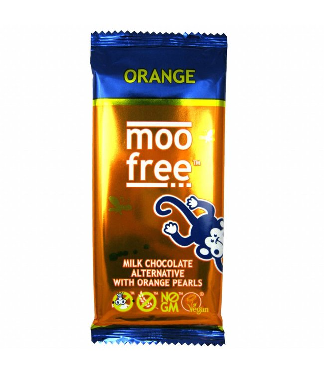 Moo Free Large Orange Bar 86g