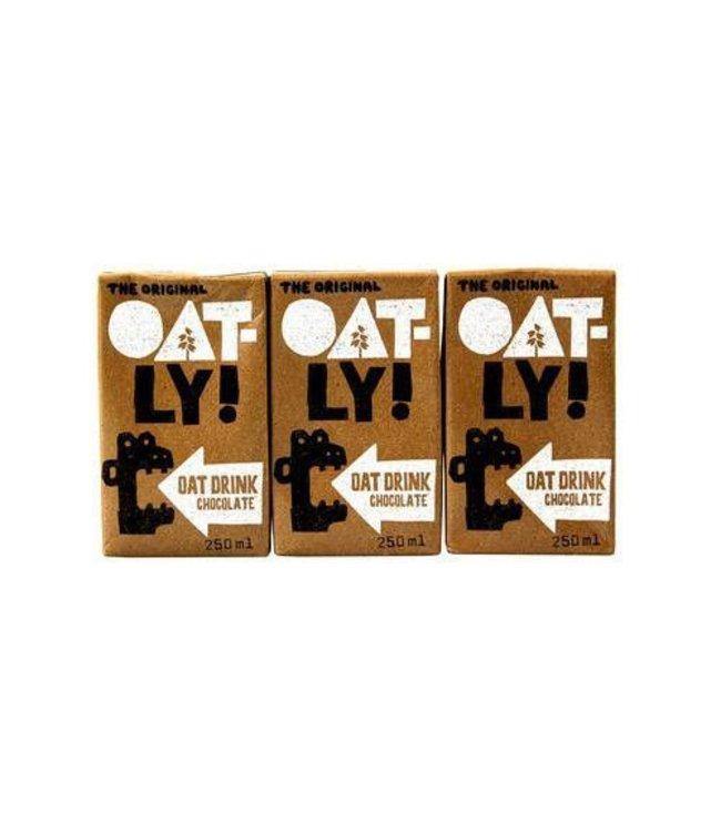 Oatly Oatly Oat Drink Chocolate- 3x250ml