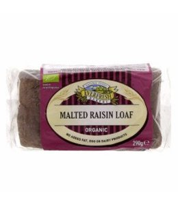 Everfresh Natural Foods Organic Malted Raisin Loaf 290g