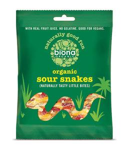 Biona Biona Sour Snakes 75g