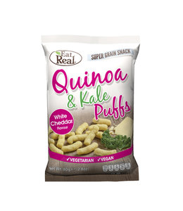 Eat Real Eat Real Quinoa Kale Puffs Cheese (113g)