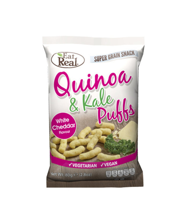 Eat Real Eat Real Quinoa Kale Puffs Cheese (113 g)