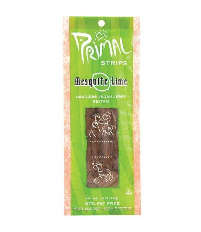 Primal Spirit Primal Strips Mesquite Lime Seitan Jerky 28g