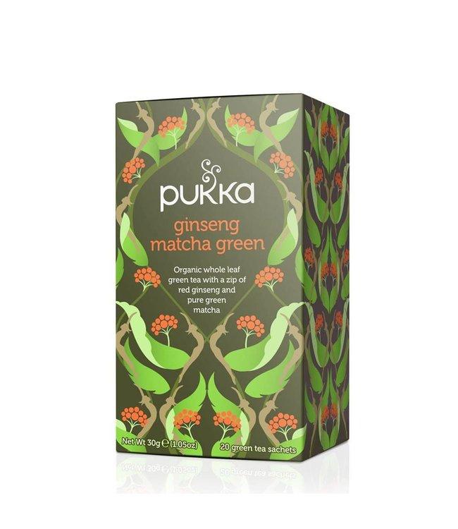 Pukka Ginseng Matcha Green 20 bags
