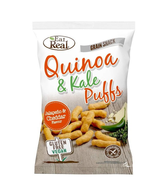 Eat Real Eat Real Quinoa Kale Puffs Jalapeno
