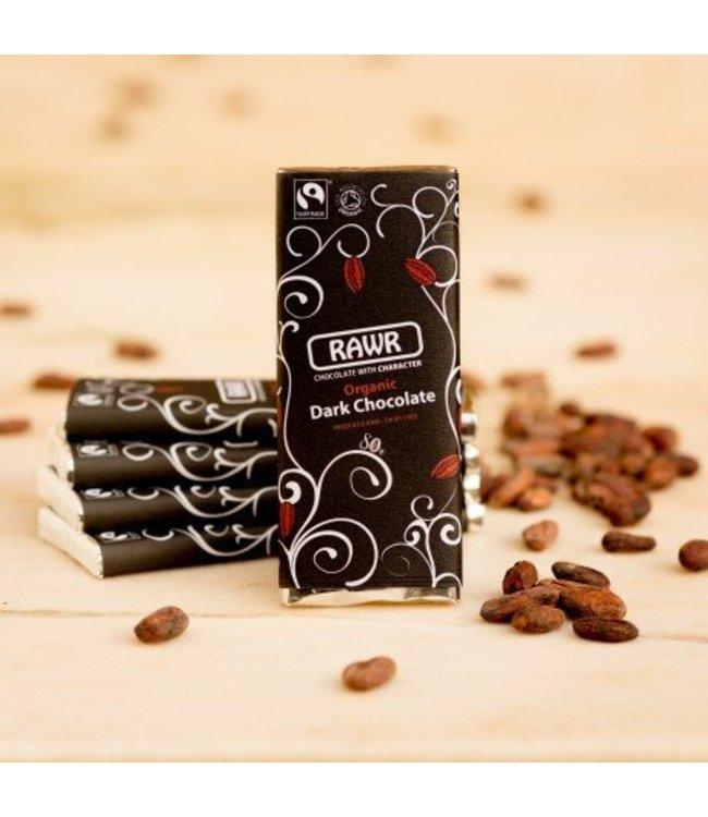 Rawr Organic 80% Dark Raw Chocolate Bar 60g