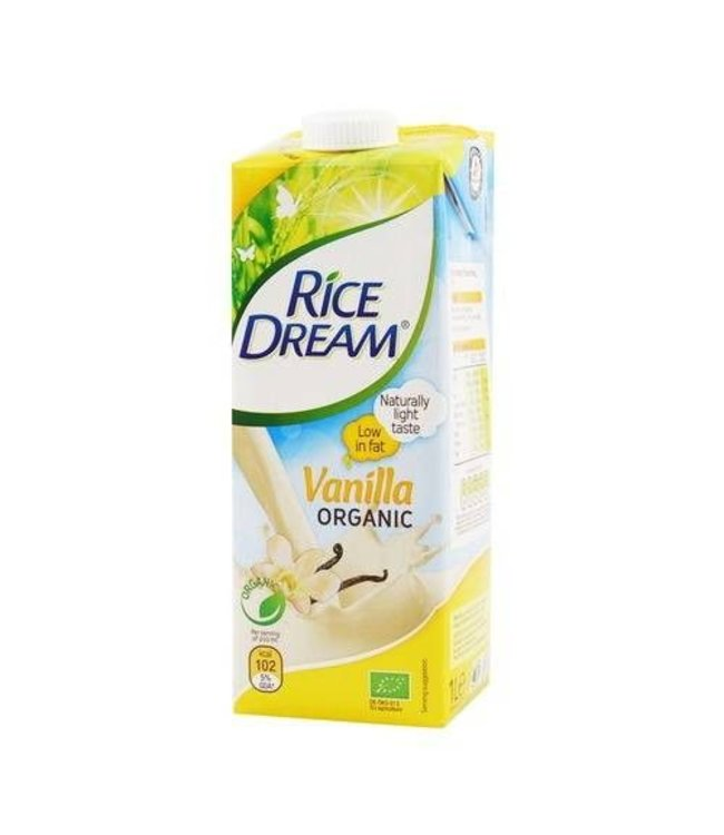 Rice Dream Rice Dream Organic - Vanilla 1L