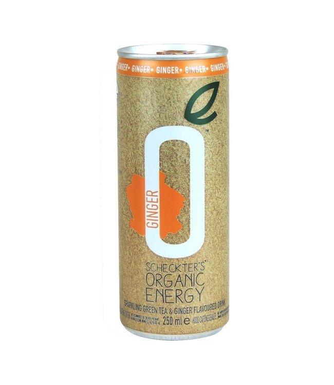 Scheckters ORG Energy Drink Green Tea Ginger 250ml