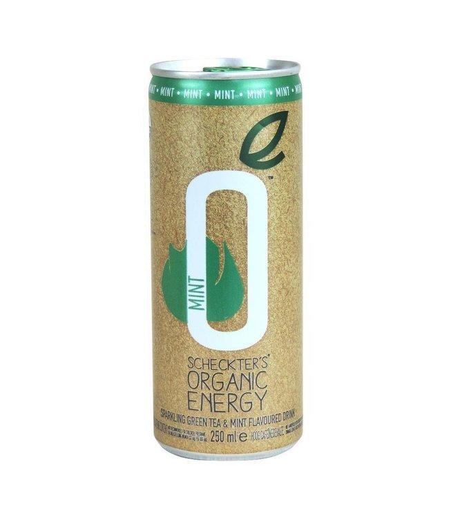 Scheckters ORG Energy Drink Green Tea Mint 250ml