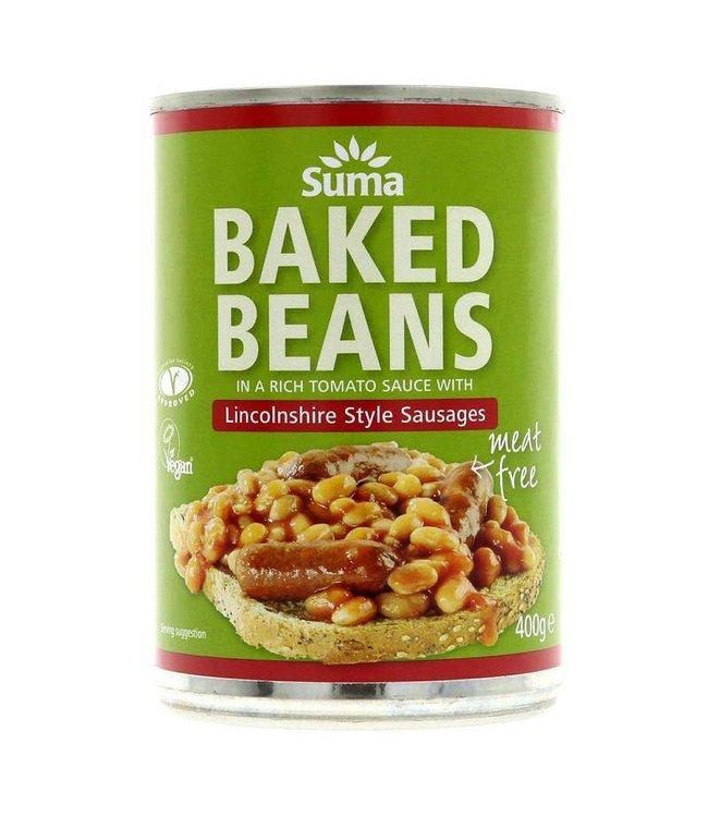 Suma Suma Baked Beans & Sausage 400g