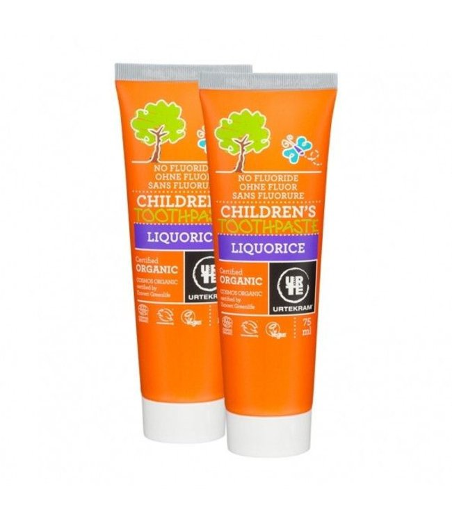 Urtekram Urtekram Children's Toothpaste Liquorice 75ml