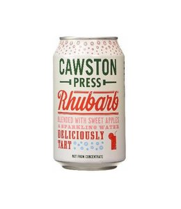 Cawston Press Cawston Apple & Rhubarb CAN 330ml