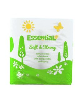 Essential Essential Toilet Roll Recycled 4pk