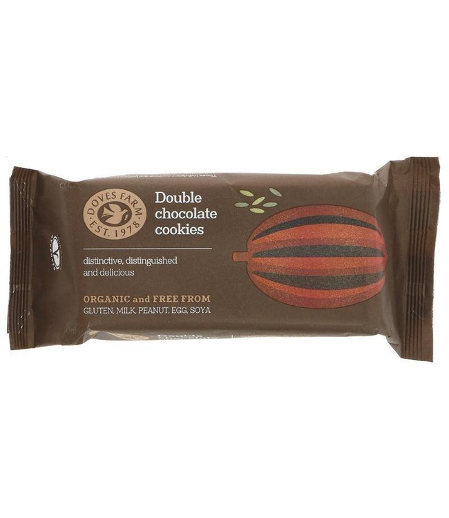 Doves Farm Doves Double Chocolate Cookies 180g