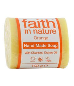 Faith in Nature Orange Pure Vegetable Soap 100g