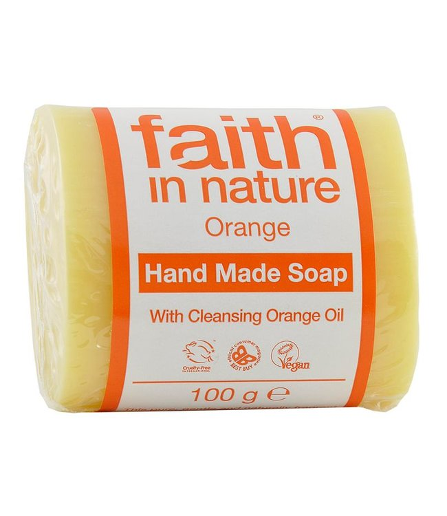 Faith in Nature Faith In Nature Orange Soap 100g