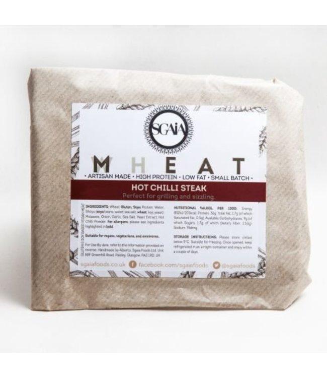 Sgaia Sgaia Mheat Steak Hot Chilli 150g