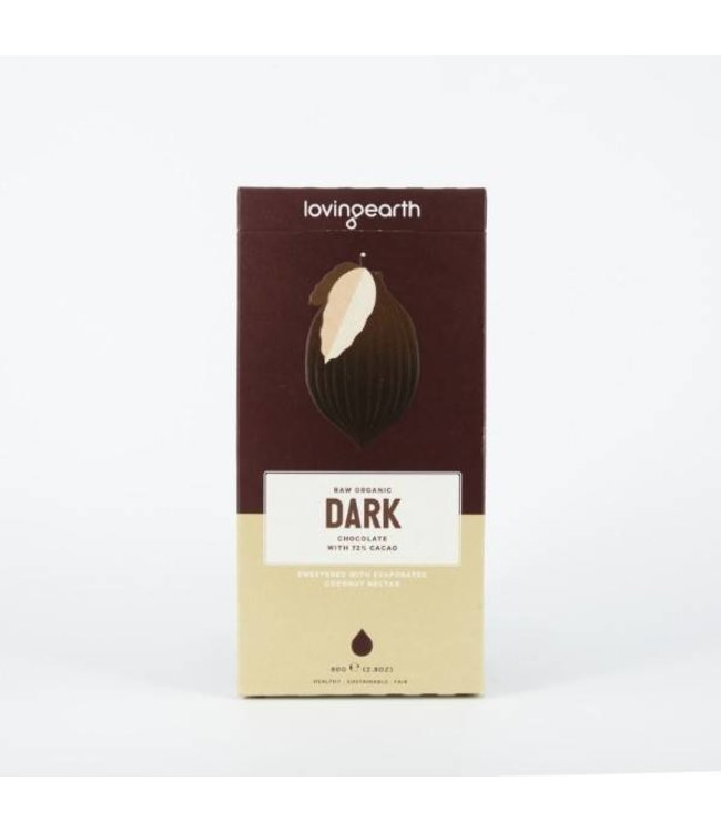 Loving Earth Loving Earth Dark Chocolate 80g