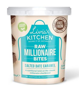 Livia's Millionaire Bites Salted DateCaramel LARGE 180g