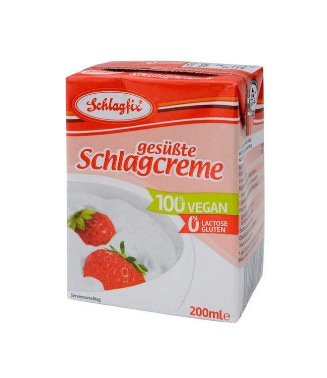 Schlagfix Vegan Sweetened Whipping Cream 200ml
