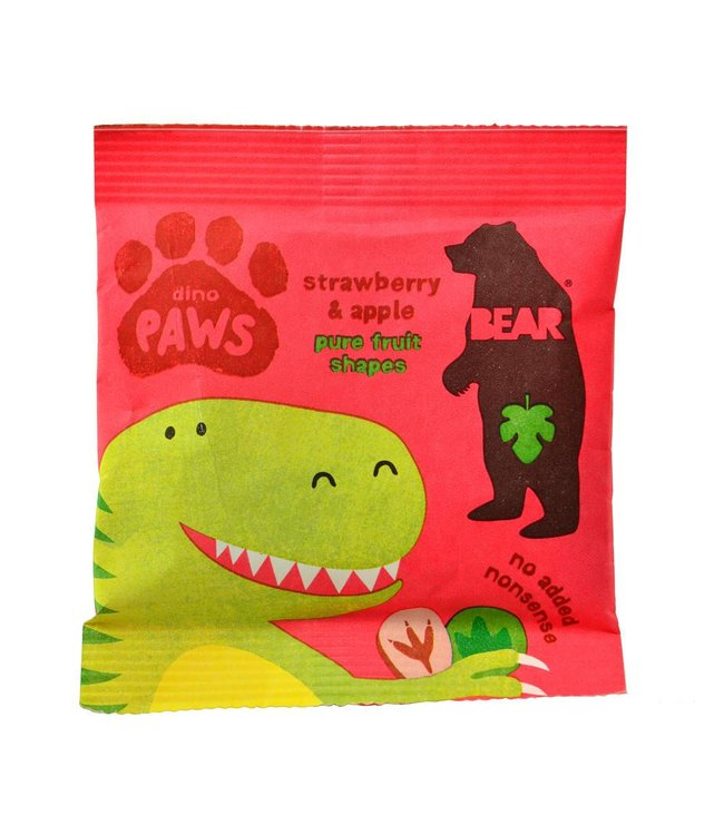 Bear Dino Paws Strawberry Apple 20g
