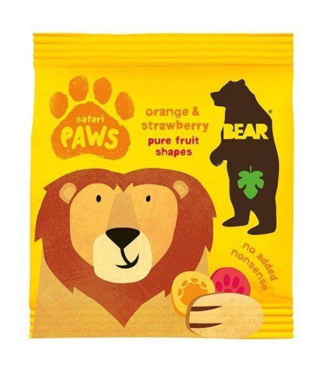 Bear Safari Paws Mango Strawberry 20g