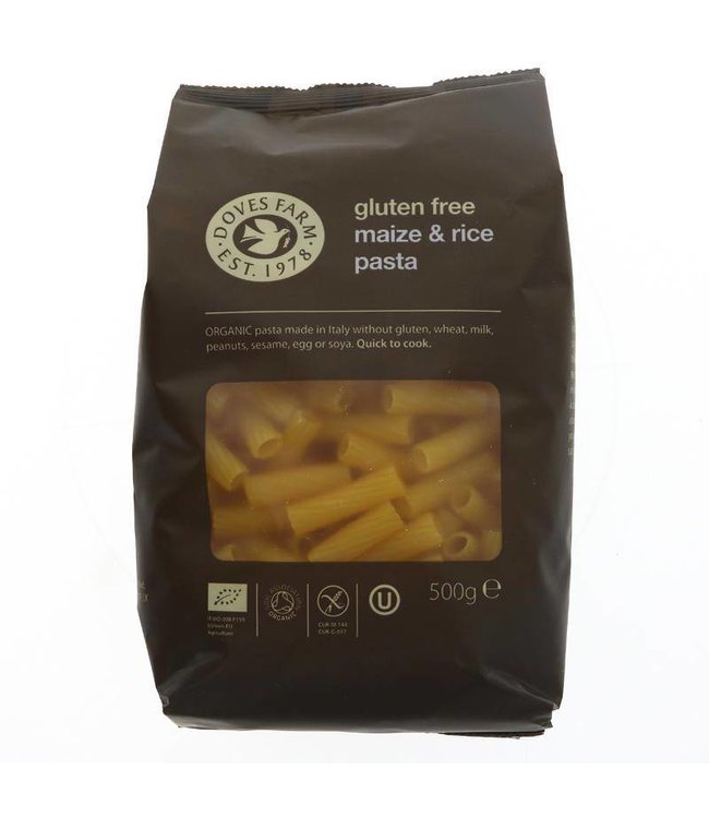 Doves Farm Organic Maize/Rice Tortiglioni