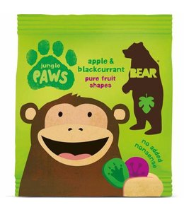 Bear Jungle Paws Apple Blackcurrant 20g