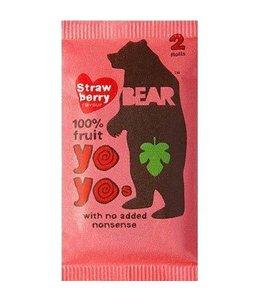 Bear Yo Yos Strawberry 100% Fruit Rolls 20g