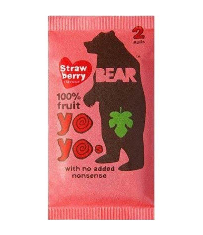 Bear Yo Yos Strawb 100% Fruit Rolls 20g