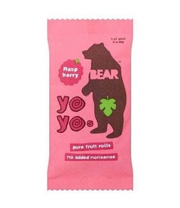 Bear Yo Yos Raspberry 100% Fruit Rolls 20g