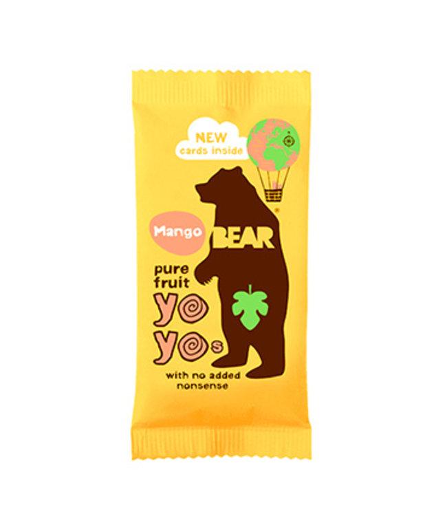 Bear Yo Yos Mango 100% Fruit Rolls 20g