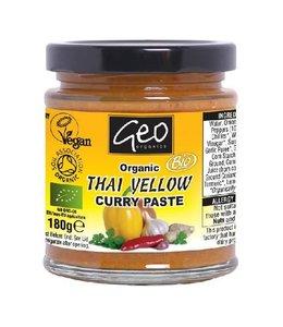 Geo Organics Organic Thai Yellow Curry Paste 180g