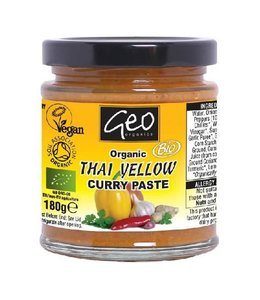 Geo Organics Pastes - Organic Thai Yellow Curry Paste 180g