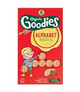 Organix Goodies Alphabet Biscuits 125g