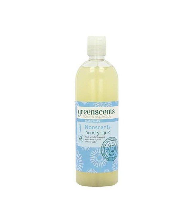 Greenscents ORG Nonscents Laundry Liquid 500ml