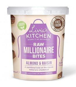 Livia's Millionaire Bites Almond & Raisin 180g