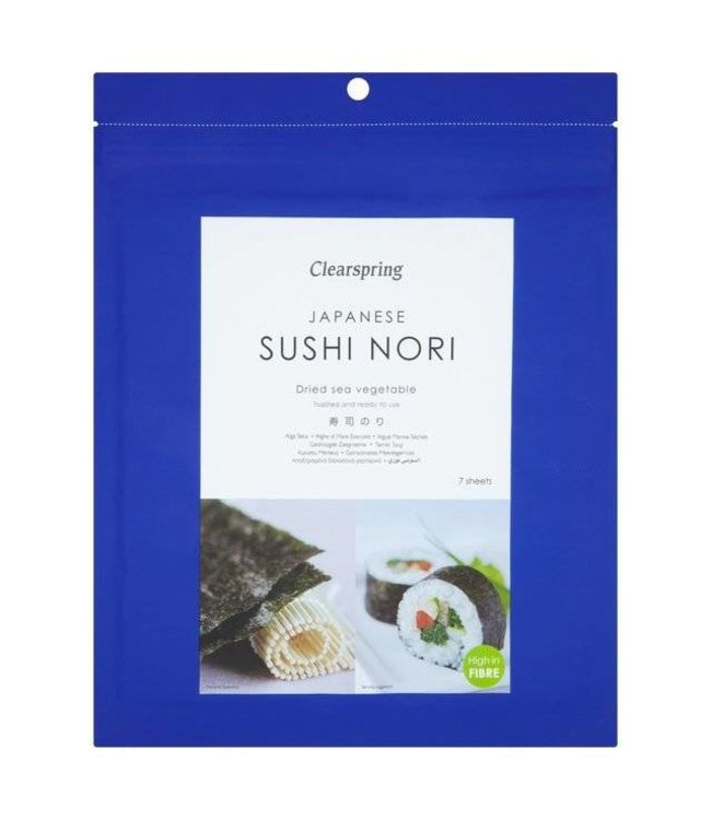Clearspring C/Spring Nori - 10 sheets 25g