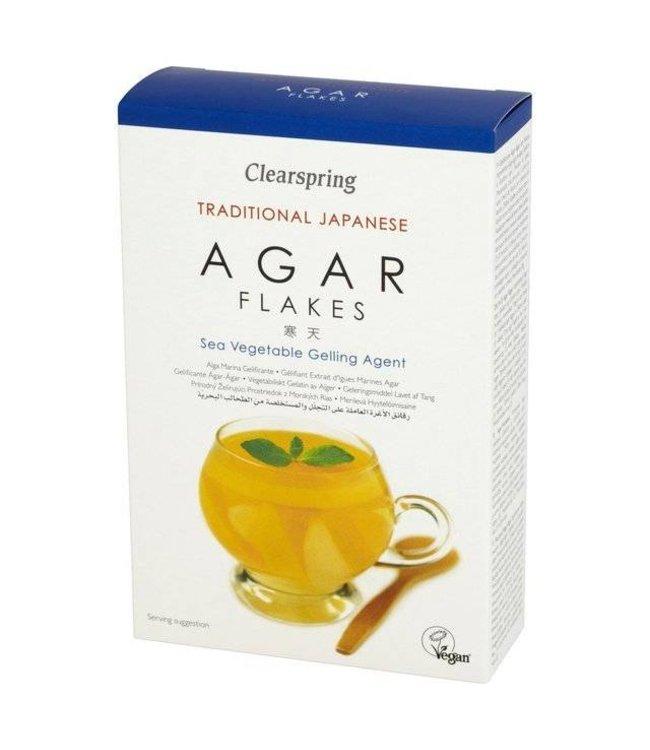 Clearspring Agar Agar Flakes Sea Vegetable 28g