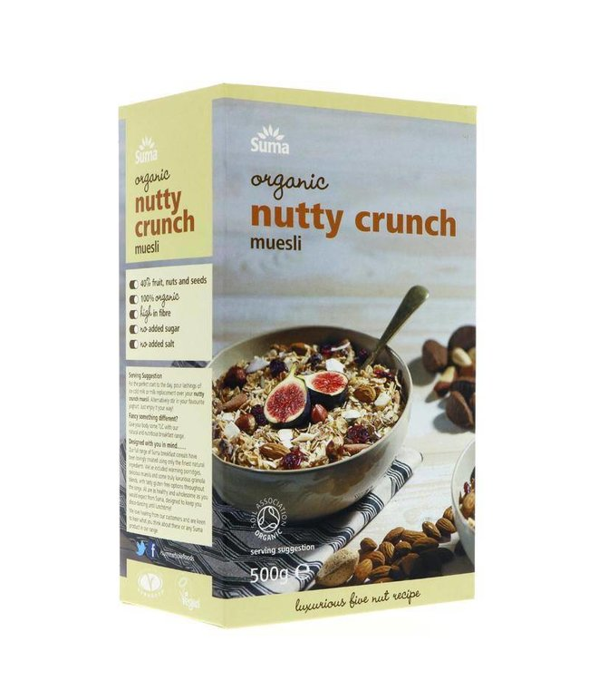 Suma Suma Organic Nutty Crunch Muesli 500g