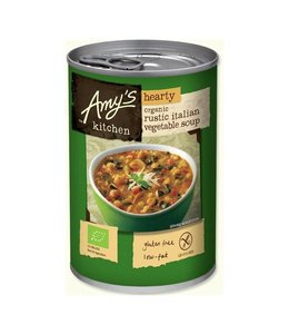 Amys Organic Hearty Rustic Italian Soup 397g