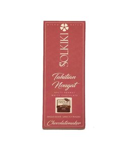 Solkiki Tahitian Nougat - White Chocolate 32% 56g