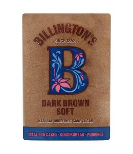 Billingtons F/T Dark Brown Soft Sugar 500g