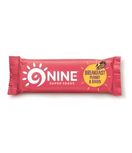 9 Bar 9bar Breakfast Peanut & Raisin 50g