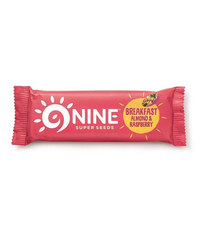 9 Bar 9bar Breakfast Almond & Raspberry 50g